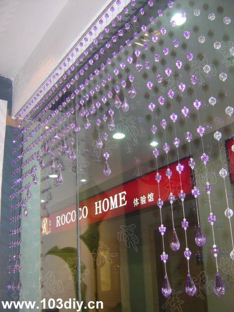 珠帘广泛应用在客厅、卧室、厨房、餐厅、进门玄关、电视背景高清图片